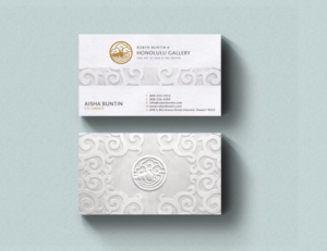 Art gallery business card design galleries for inspiration high end art gallery business card business card design by artman reheart Images