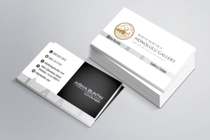 Art gallery business card design galleries for inspiration high end art gallery business card business card design by jeeta reheart Images
