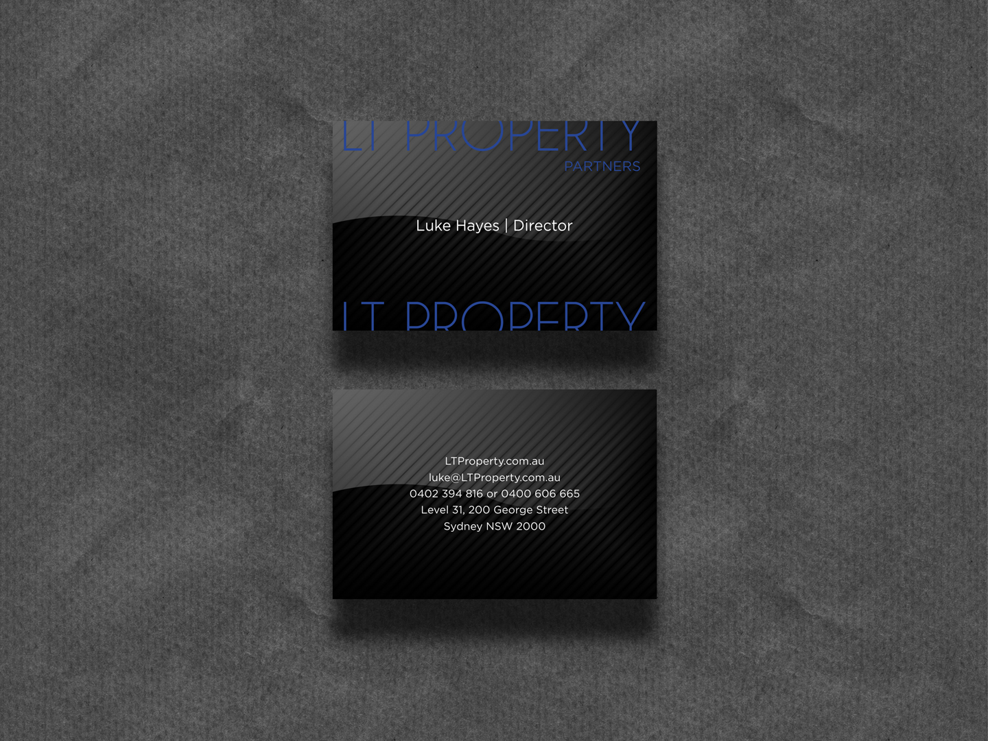 15 professional business card designs real estate agent business business card design by hypdesign for lt property design 19512393 reheart Image collections