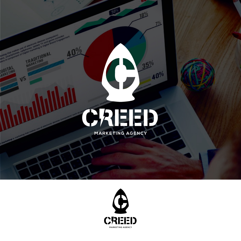 Bold, Professional Logo Design for CREED Marketing Agency by