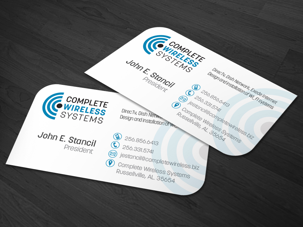 34 Business Card Designs | Electronics Business Card Design Project ...