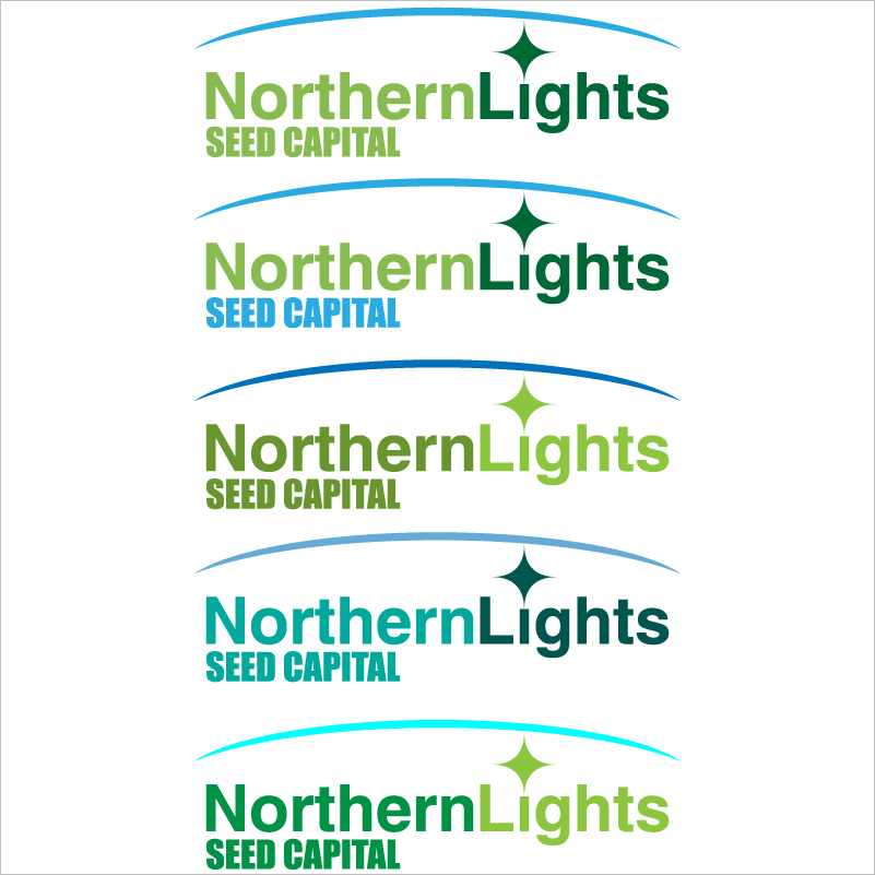 Logo Design job – logo for new business -Northern Lights Seed Capital, a venture fund – Winning design by Fanolj Ademi