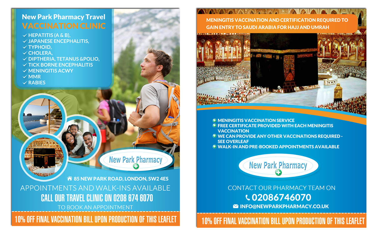 Umrah Banner: Flyer Design For A Company By ESolz Technologies