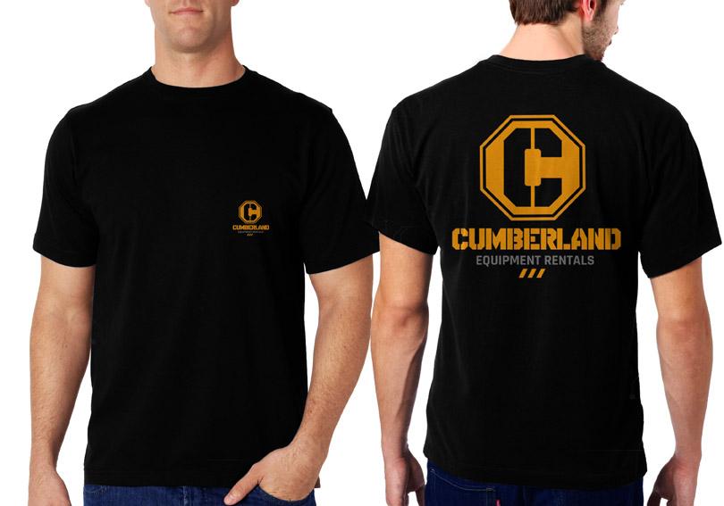 Masculine, Bold Logo Design for Cumberland Equipment Rentals