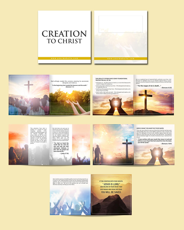 Masculine, Bold, Religious Brochure Design for Northeast