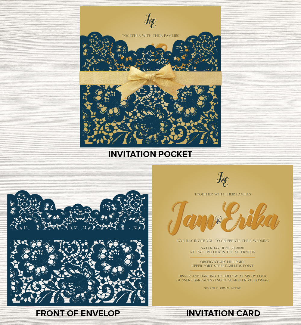 Special Laser Cut Wedding Invitation 56 Invitation Designs