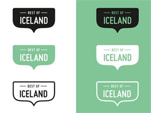 Logo Design by Nic - Logo for Best of Iceland