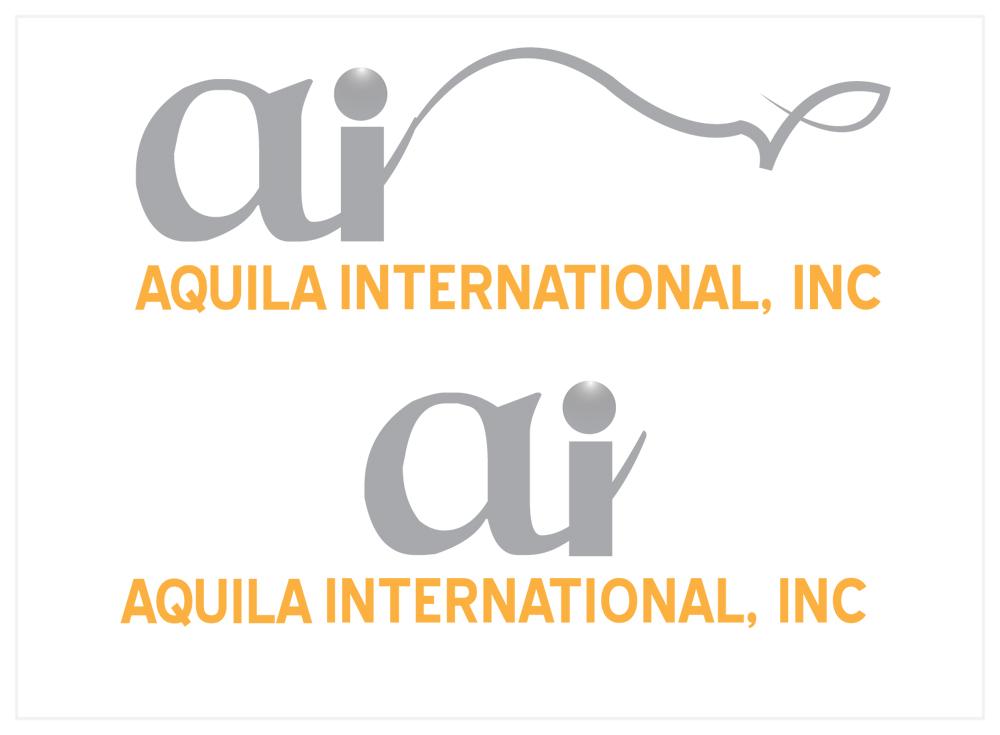 Colorful upmarket farming logo design for aquila for Decor valley international inc