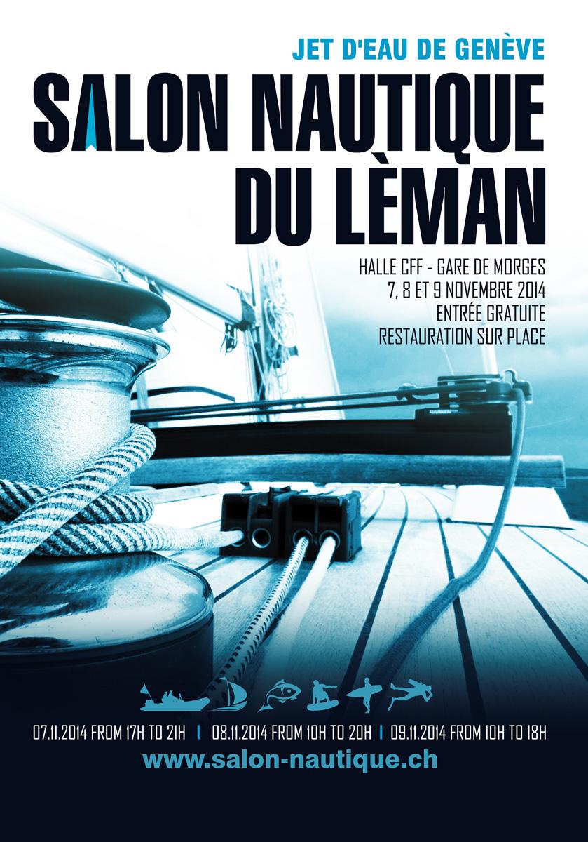 Modern Professional Nautical Poster Design For Poseidon