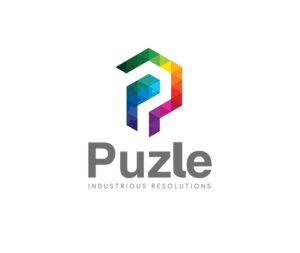 Puzle Industrious Resolutions Logo Design By Pratik Bhushan Jha