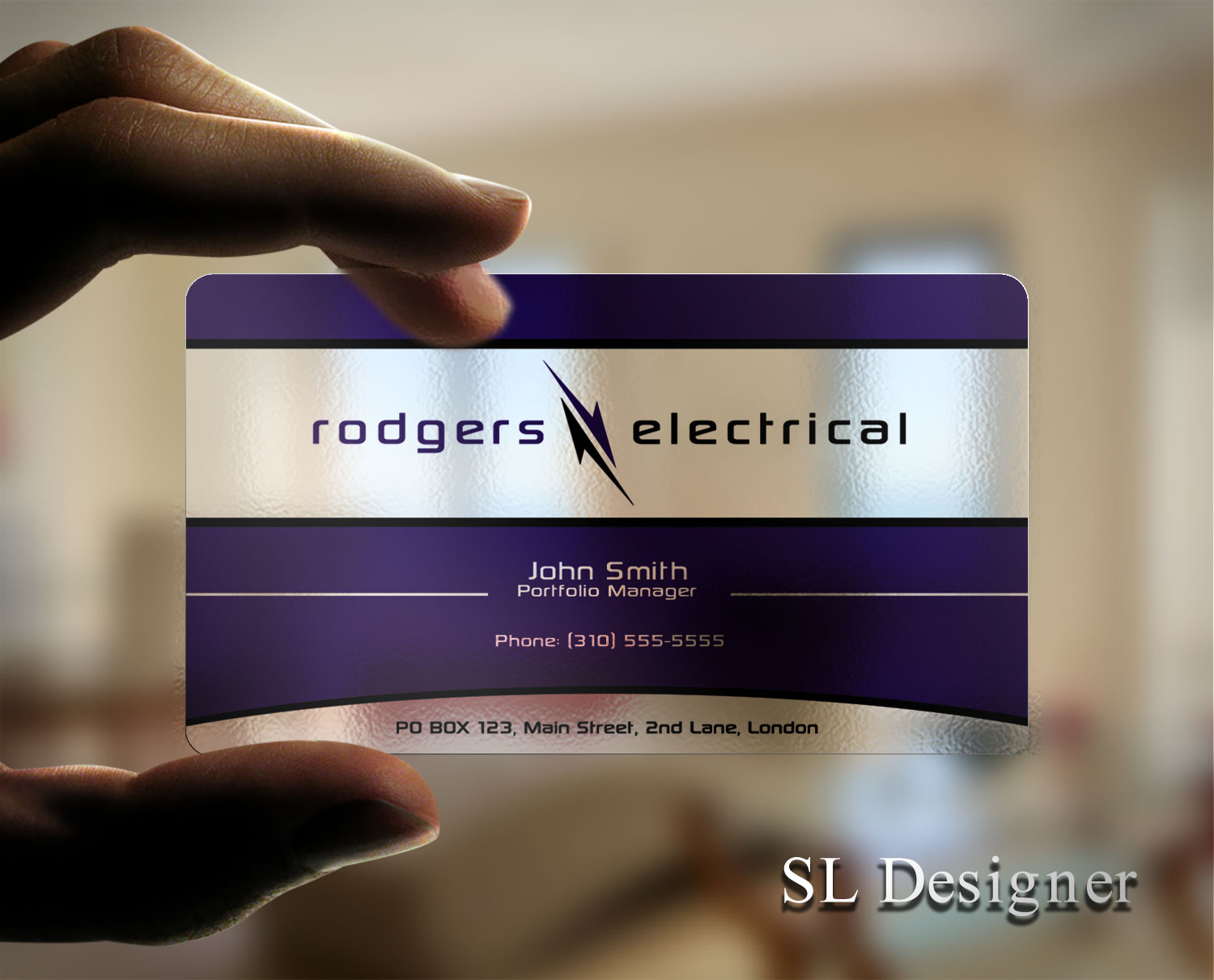 modern  serious  electrical business card design for our name or just the logo i u0026 39 m open to ideas