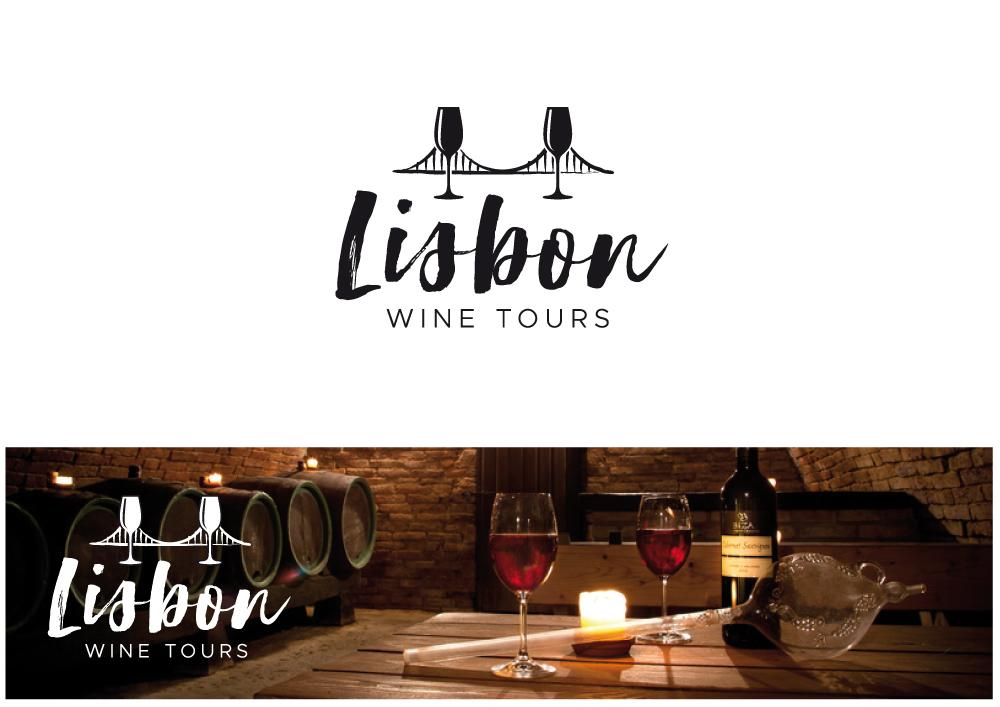 Logo Design by Nigel B for Lisbon Wine Tours
