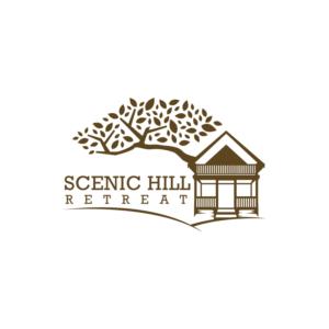 Scenic Hill Retreat | Logo Design by Kreative Fingers