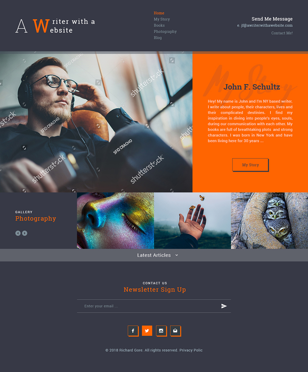 Bold Playful Web Design For A Company By Ved Web Services Design 19650779