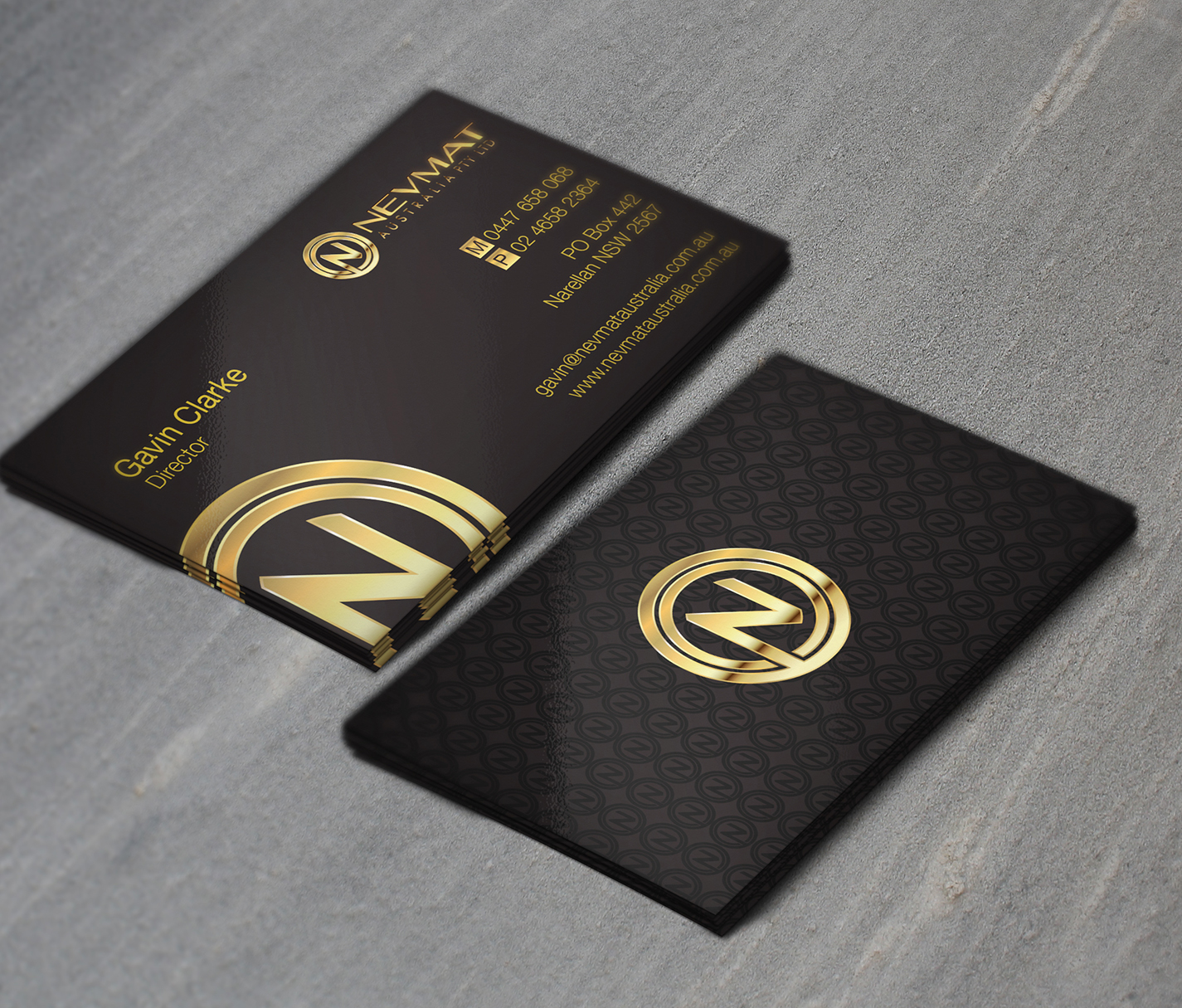 Elegant playful industrial business card design for for Industrial design business card