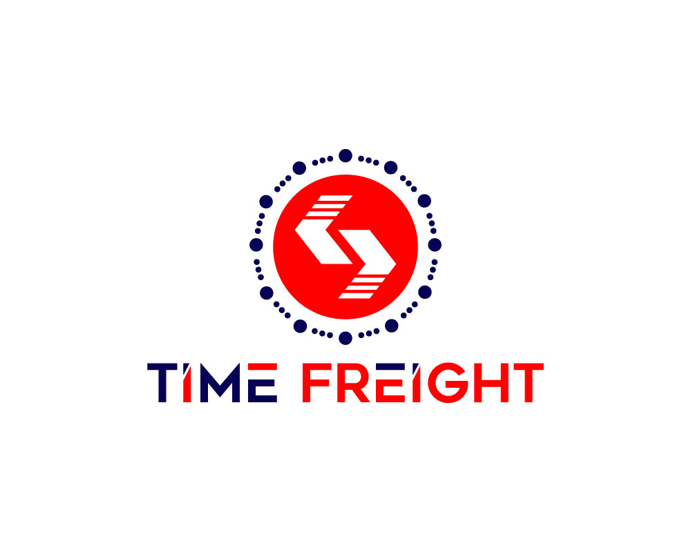 Time Freight logo by Default Design Vision