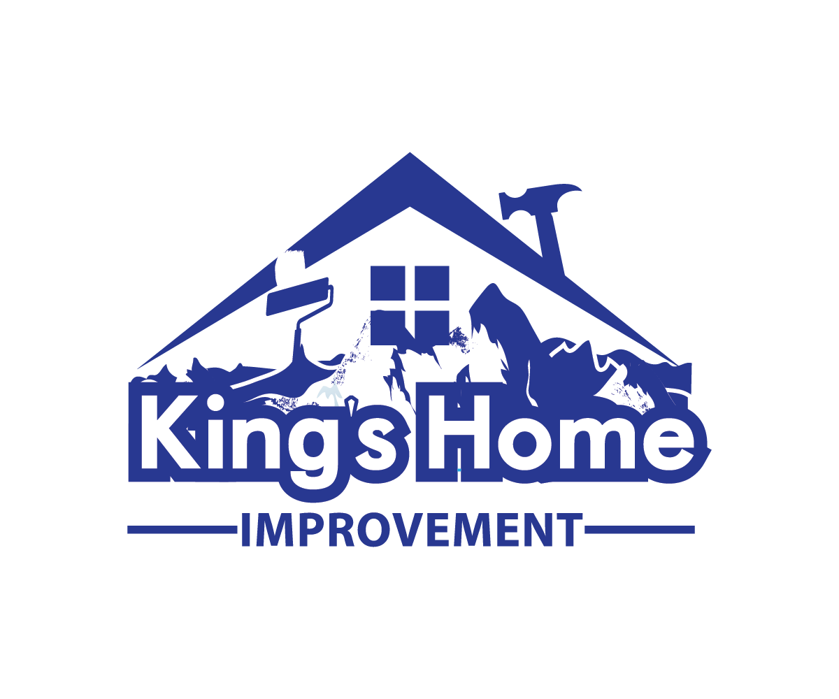 Bold, Colorful, Home Improvement Logo Design for King's ...