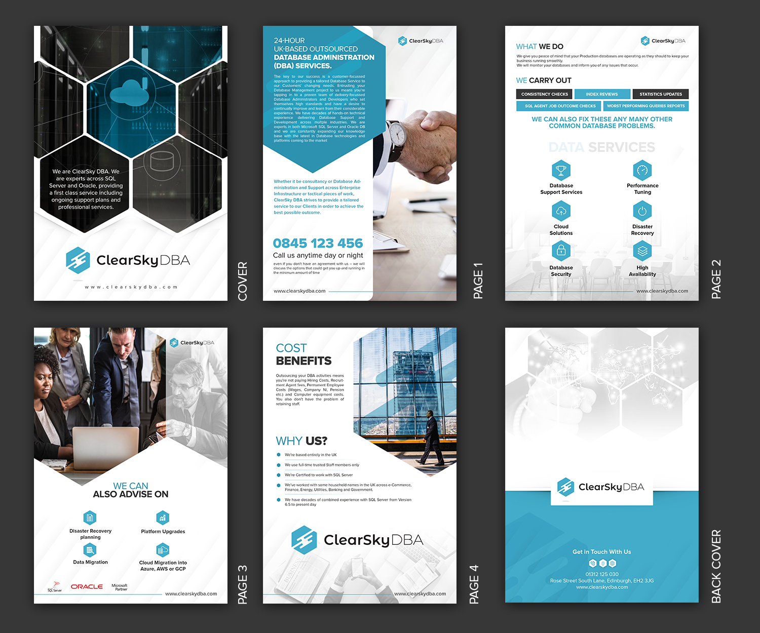 Serious, Modern Brochure Design job  Brochure brief for