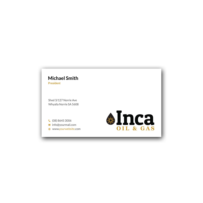 Design De Carte Visite Par Srabon55014 Pour Inca Oil And Gas