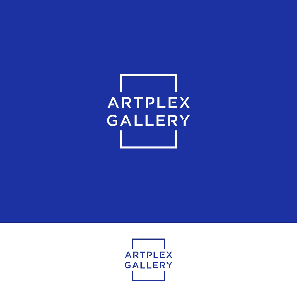 Artplex Gallery - Contemporary Art Gallery Logo by Basksh Designs