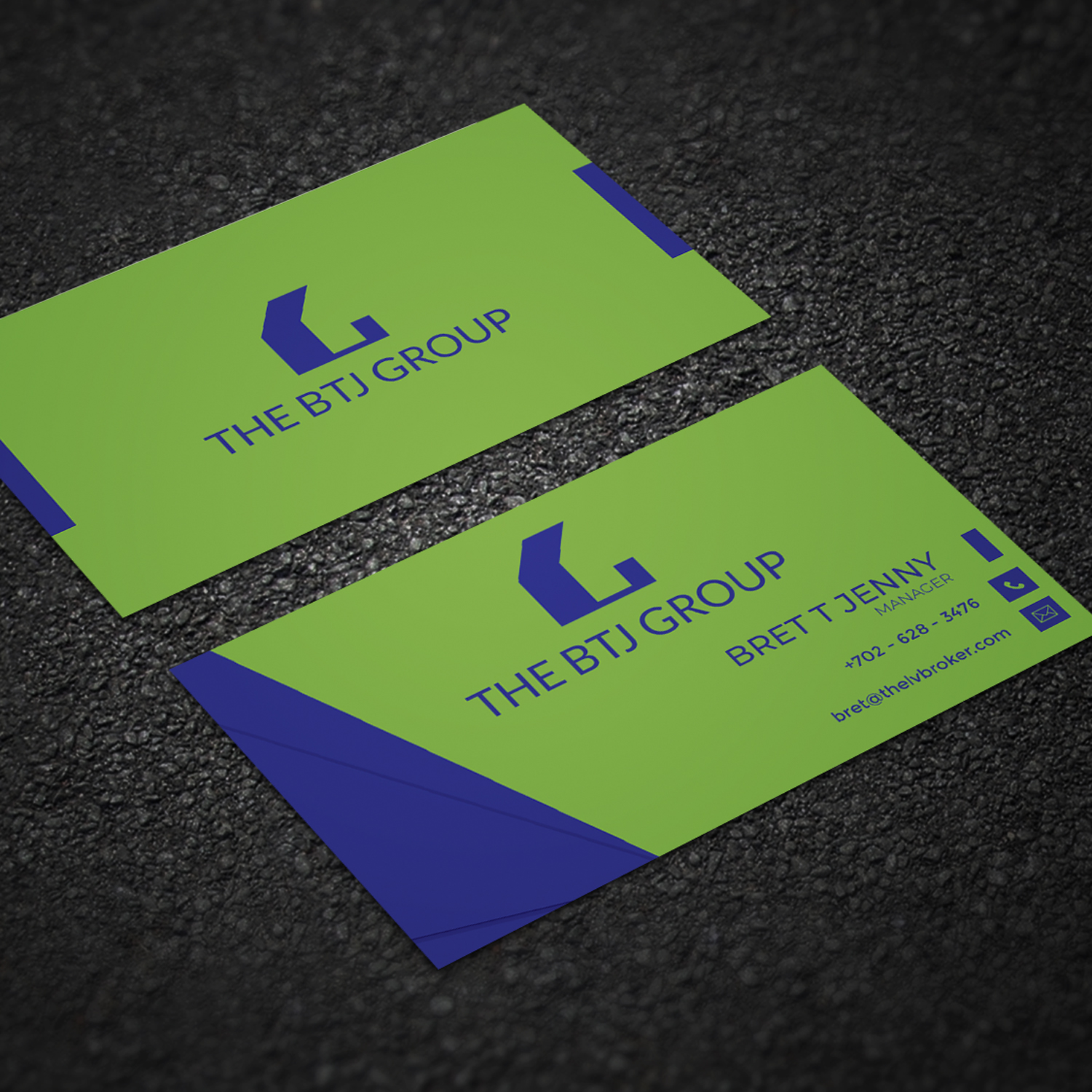 Business Card Design For Lv Lifestyle Properties By Imam Art
