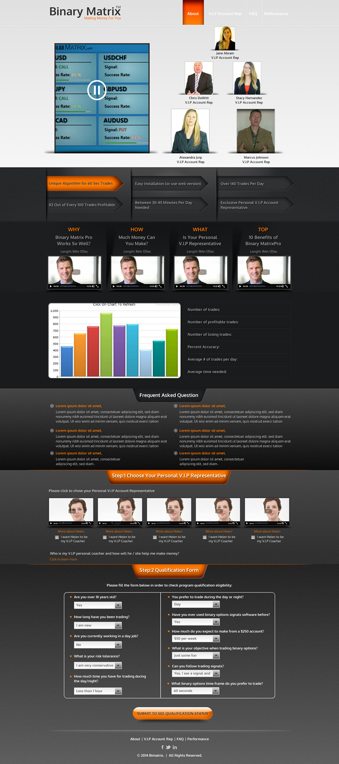 Modern Professional Small Business Web Design For A Company By Sbss Design 2925957