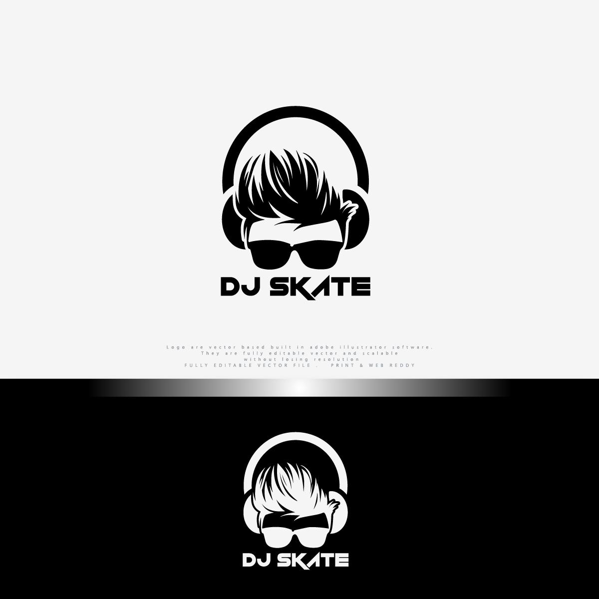 Modern, Conservative Logo Design for DJ Skate by Red Chile | Design