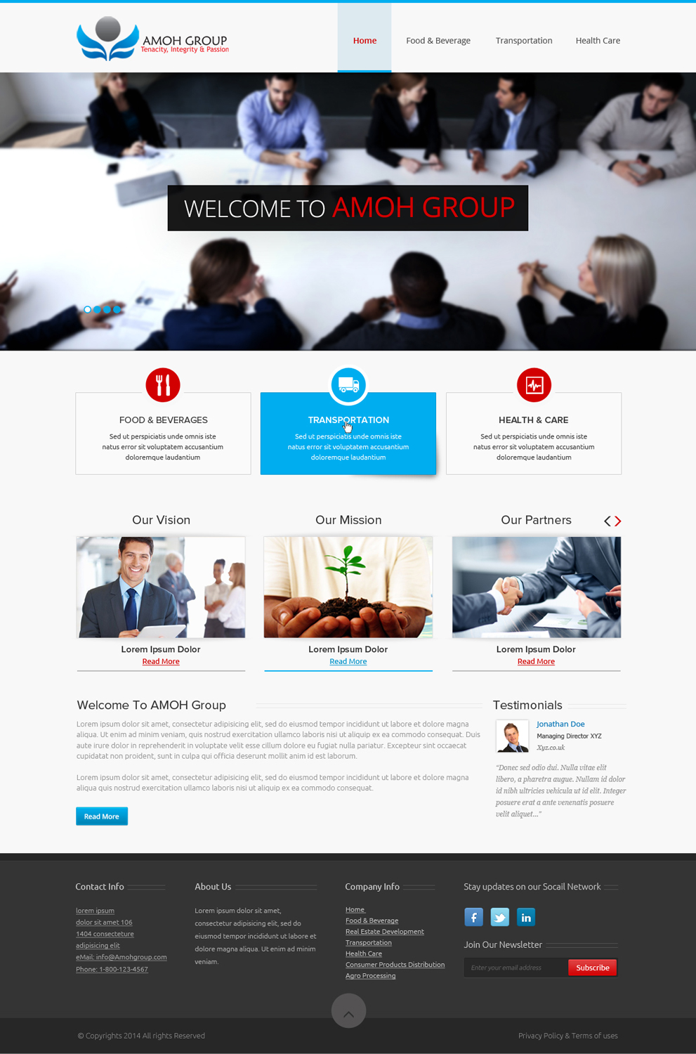 Industrial web design for a company by om design 3001106 for Industrial design business