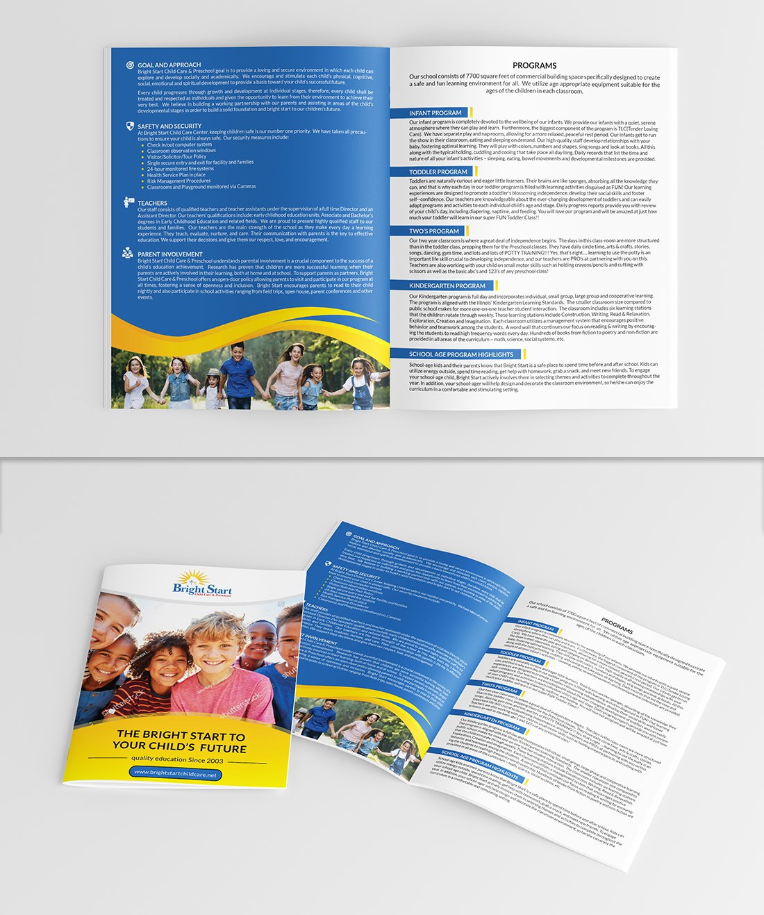 Colorful Playful Childcare Flyer Design For A Company By Axmal Etalon Design 19738728