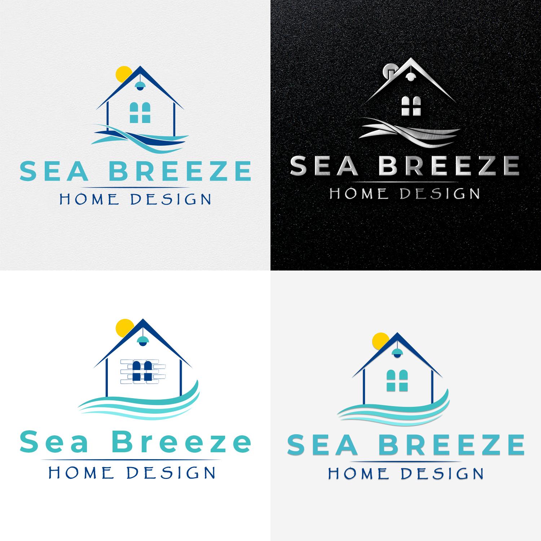 Modern Professional Interior Design Logo Design For Sea Breeze Home Design By Creative Masters123 Design 19770939
