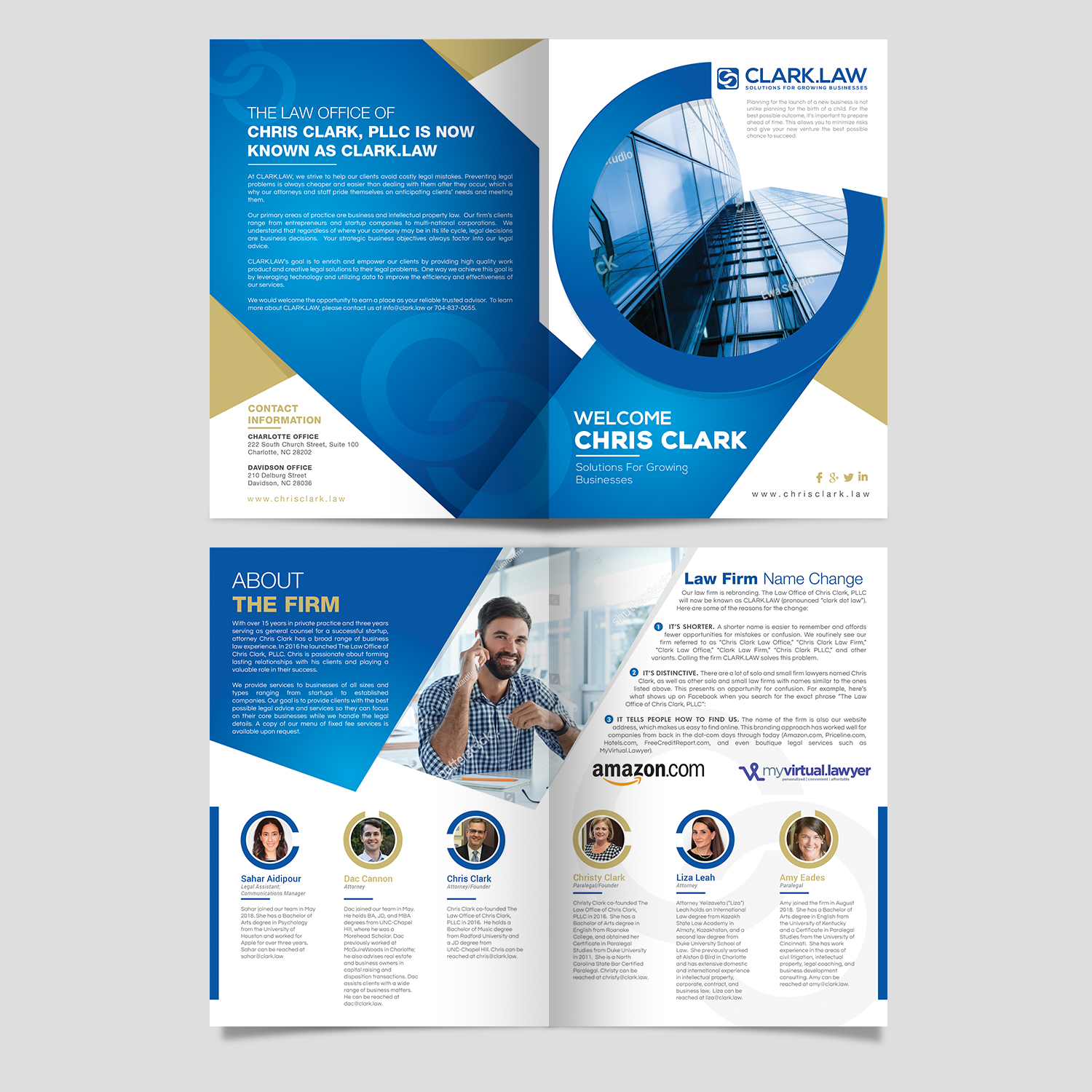 serious upmarket legal brochure design for a company by aj3664