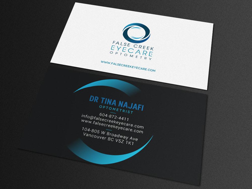 Elegant Modern Health Care Visitenkarten Design Für A