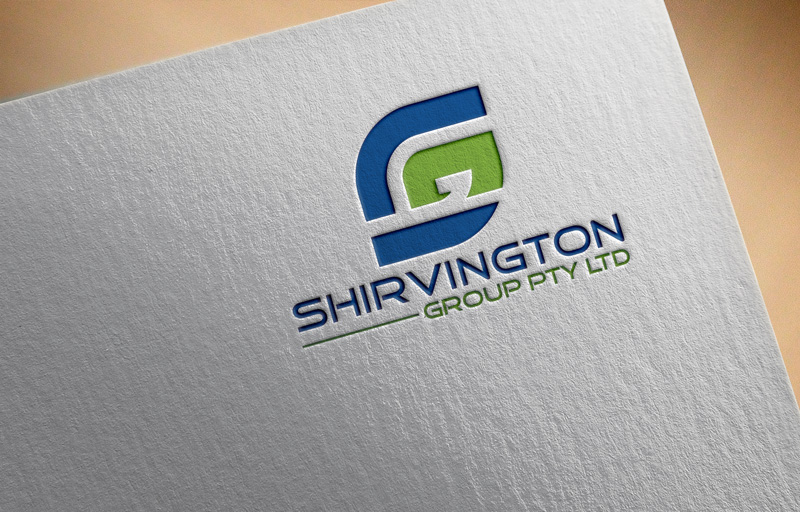 Modern Serious Logo Design For Shirvington Group Pty Ltd By
