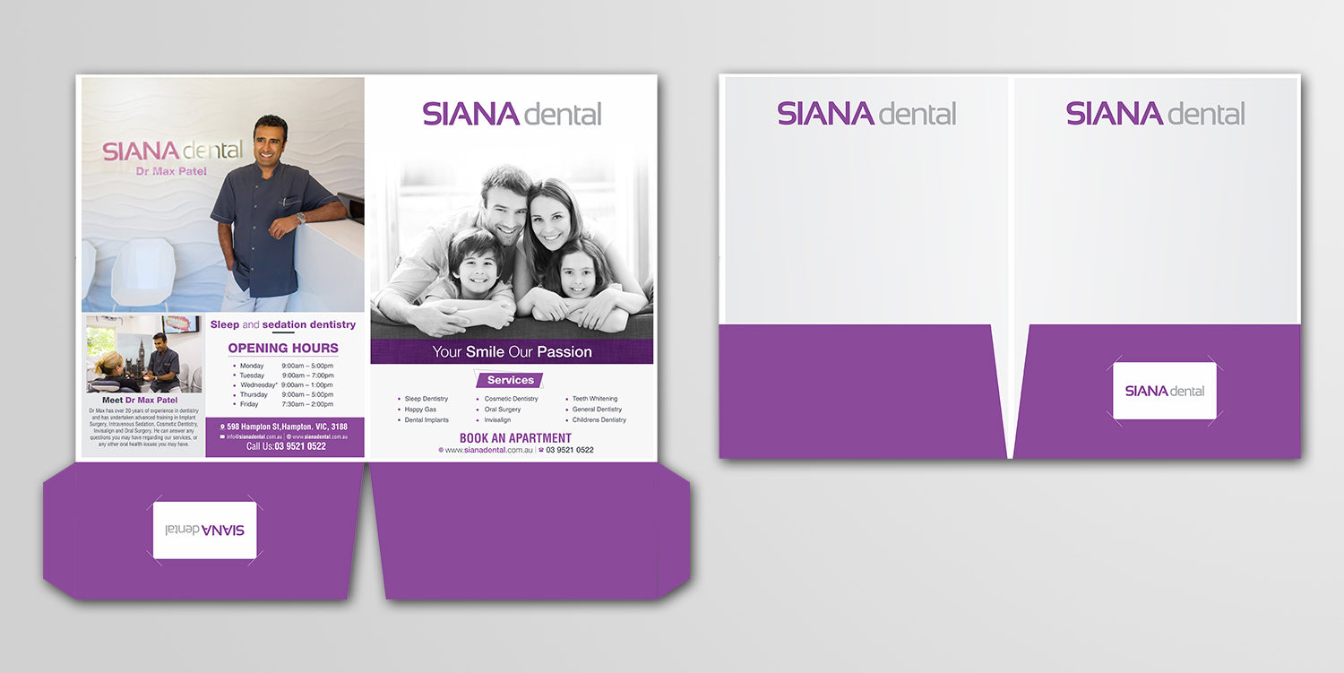 Professional, Modern, Dental Clinic Stationery Design for ...
