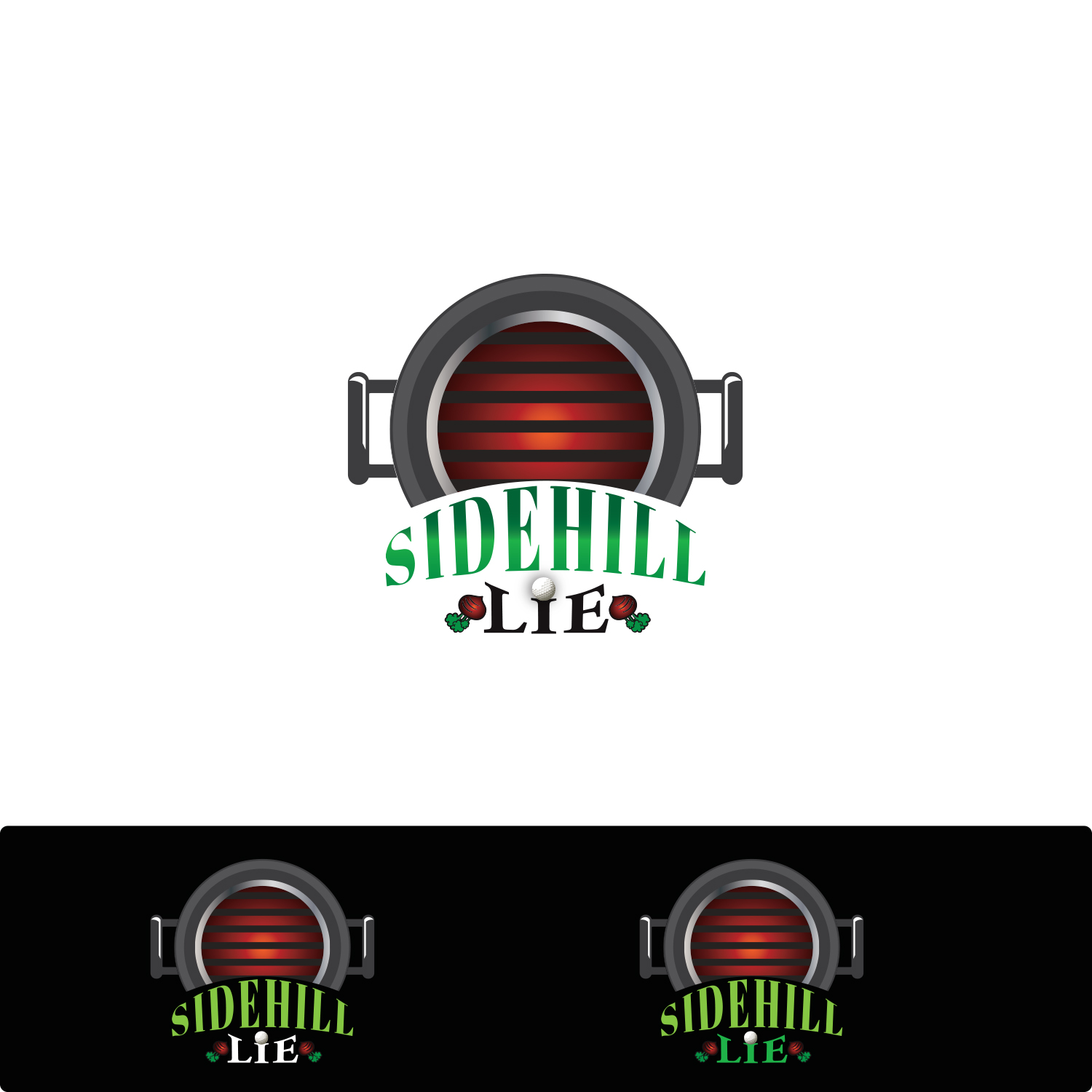 Sidehill Lie Logo by nadbook2323
