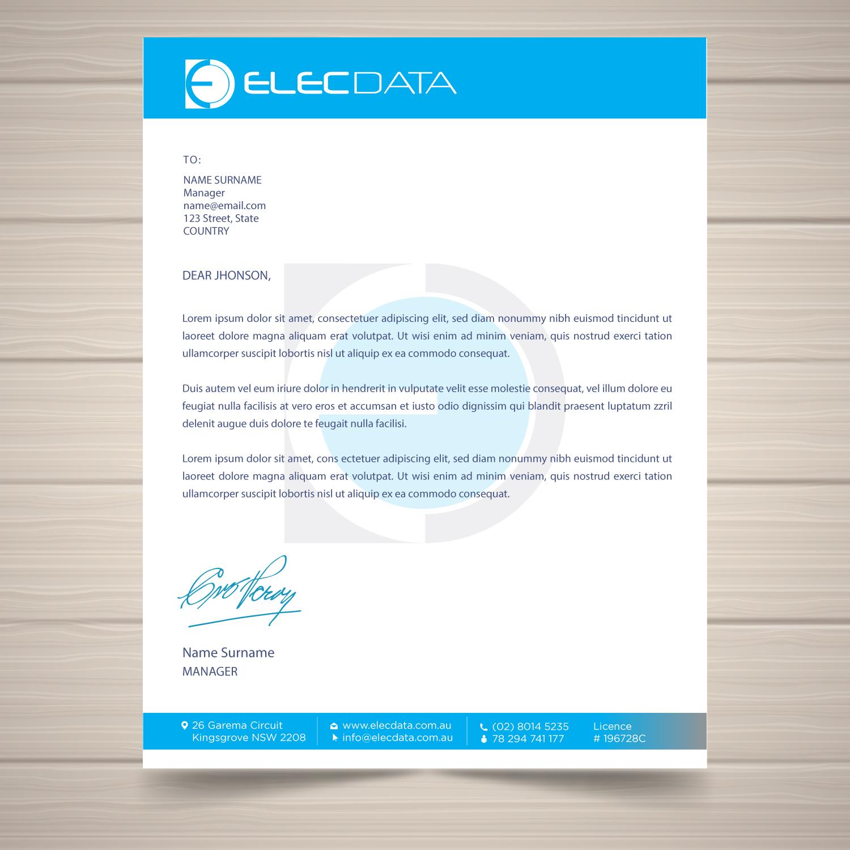 Elegant, Playful Letterhead Design For A Company By Uk