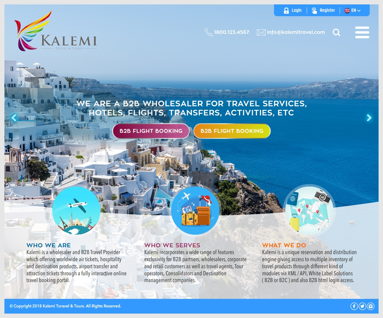 Elegant Playful Tourism Web Design For A Company By Ray Design 19858291