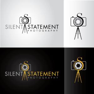 Silent Statement Photography Logo Design By Fourtunedesign