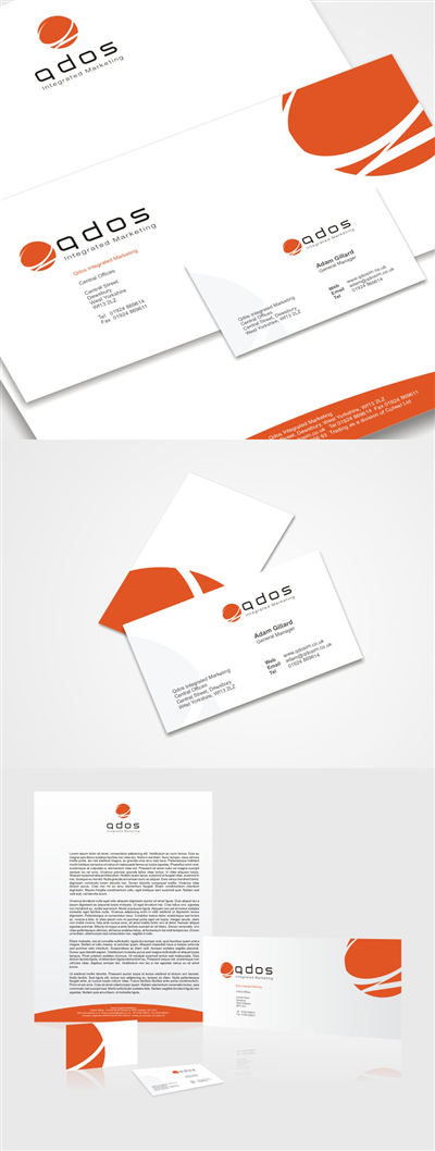 Refresh Club Stationery Design 56433
