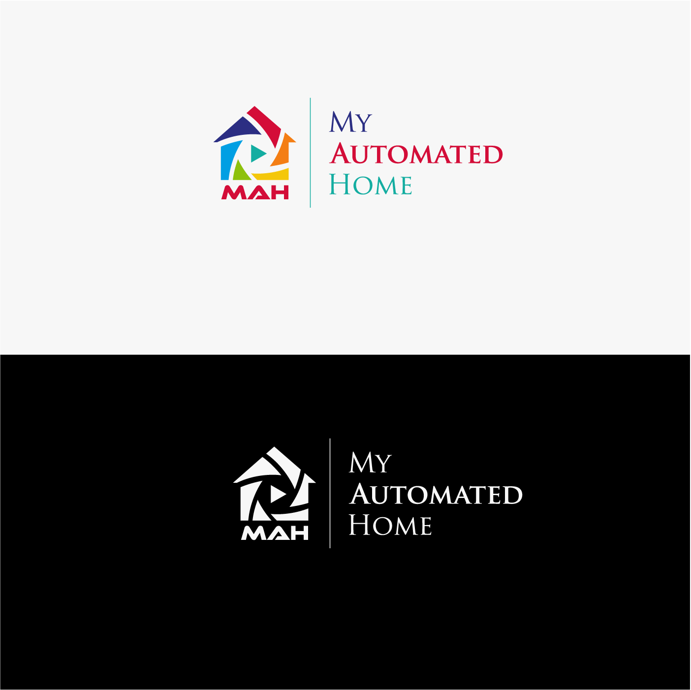 Modern Personable Logo Design For My Automated Home Or Mah By