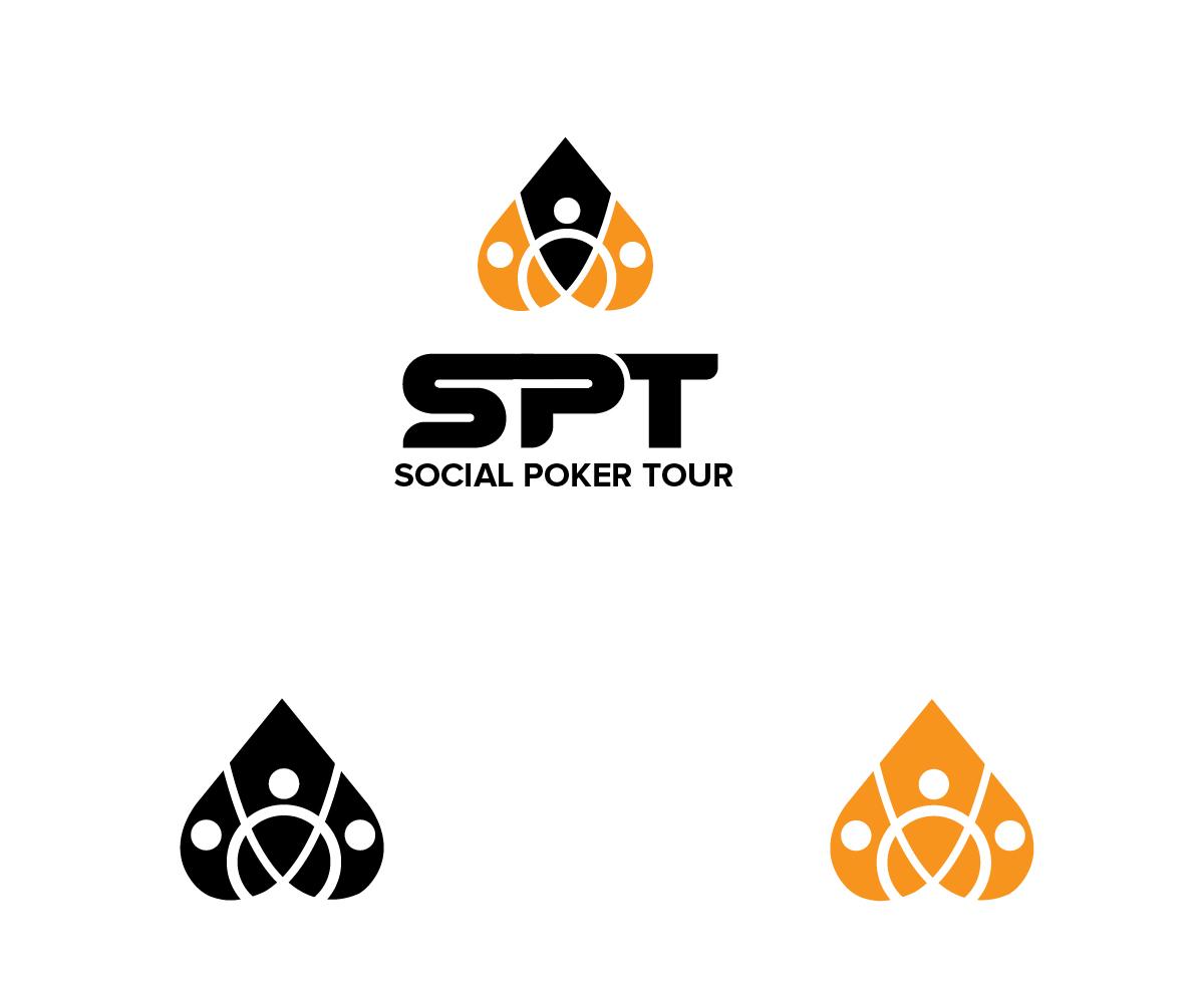 Masculine Bold Logo Design For Social Poker Tour Or Spt Or Both By Renderman Design 19836916