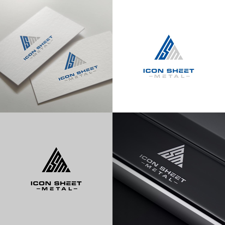 Professional Masculine Construction Company Logo Design For Icon