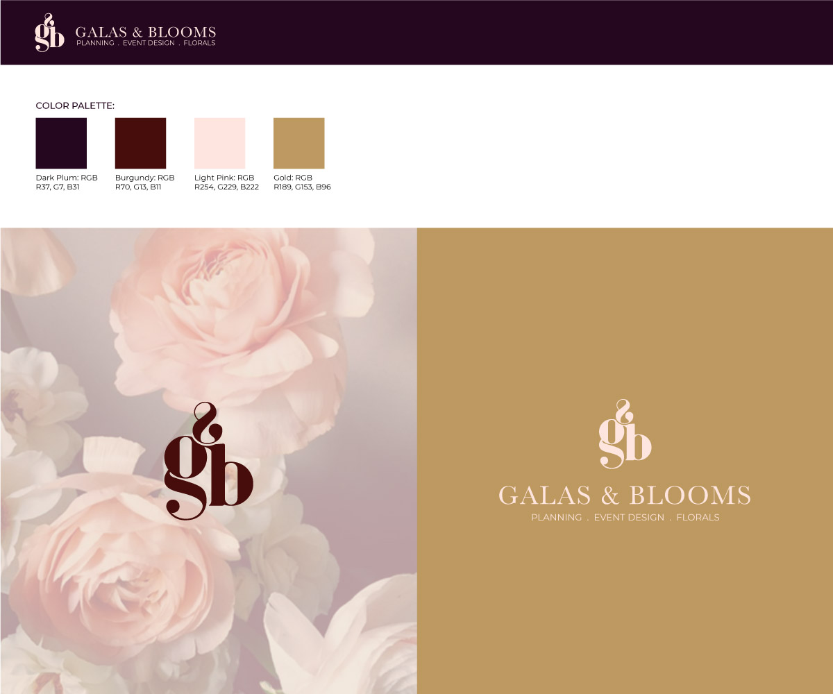 Logo Design for a Luxury Event and Floral Planning Business by lionx