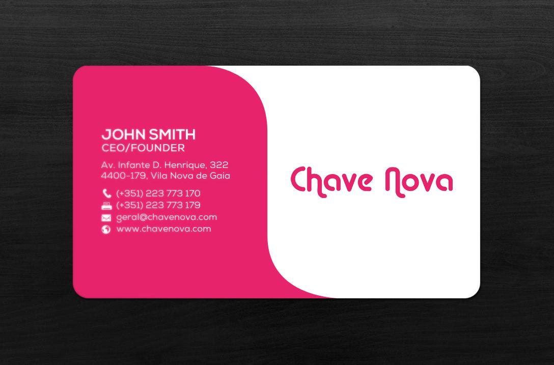Design De Carte Visite Par Chandrayaancreative Pour CHAVE NOVA