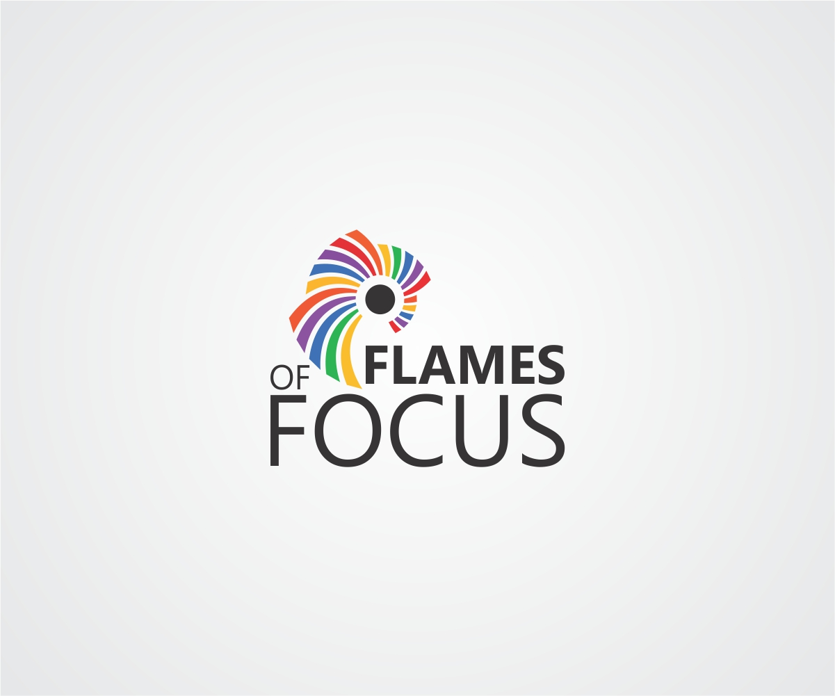 personable modern gas company logo design for flames of