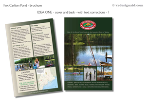 Brochure Design by vrdesignaid - Fox Carlton Pond
