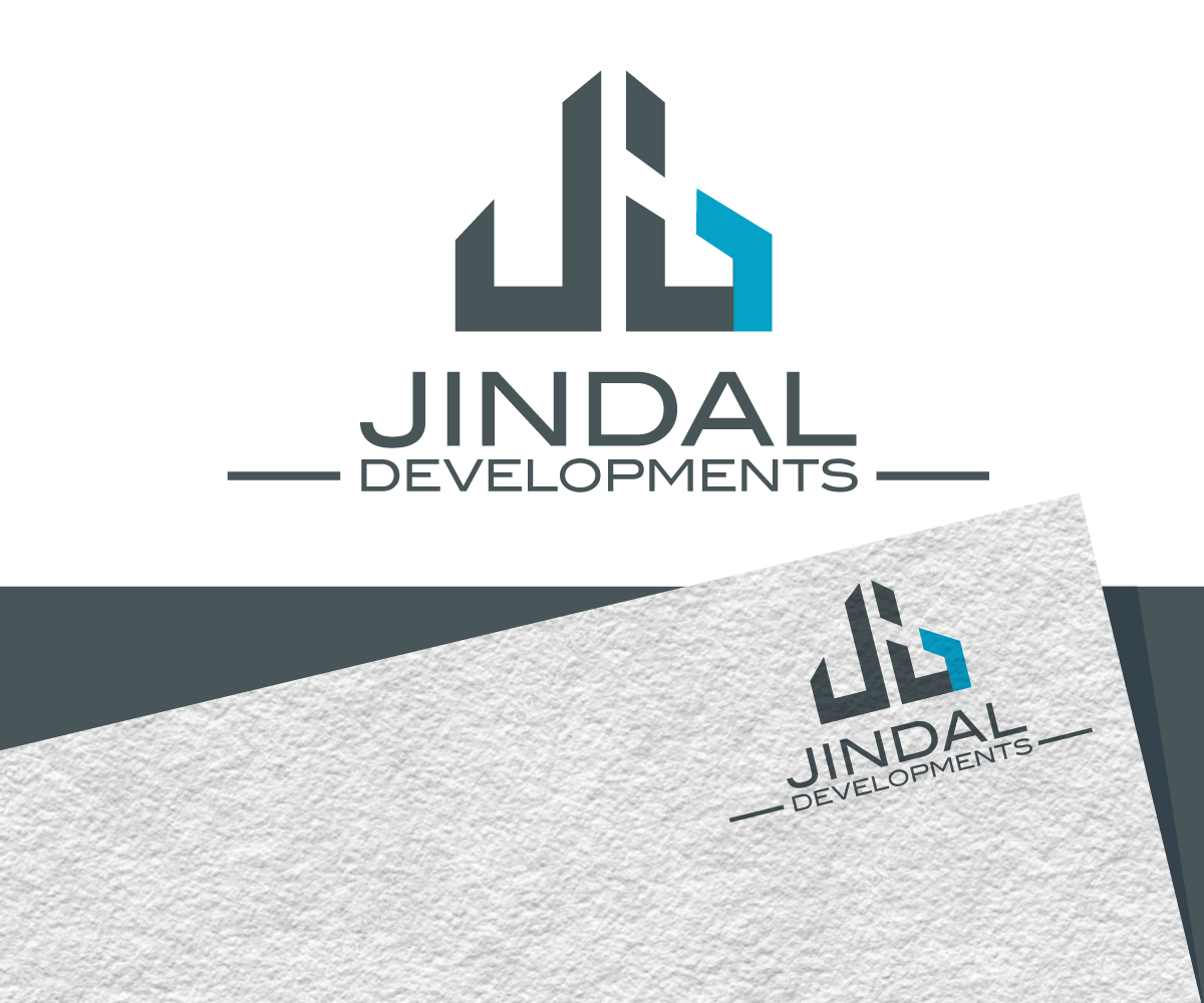 serious modern logo design for interchangeable between jindal developments and jindal properties the letter j d and p must be present in the logo by jay design design 19878993 designcrowd