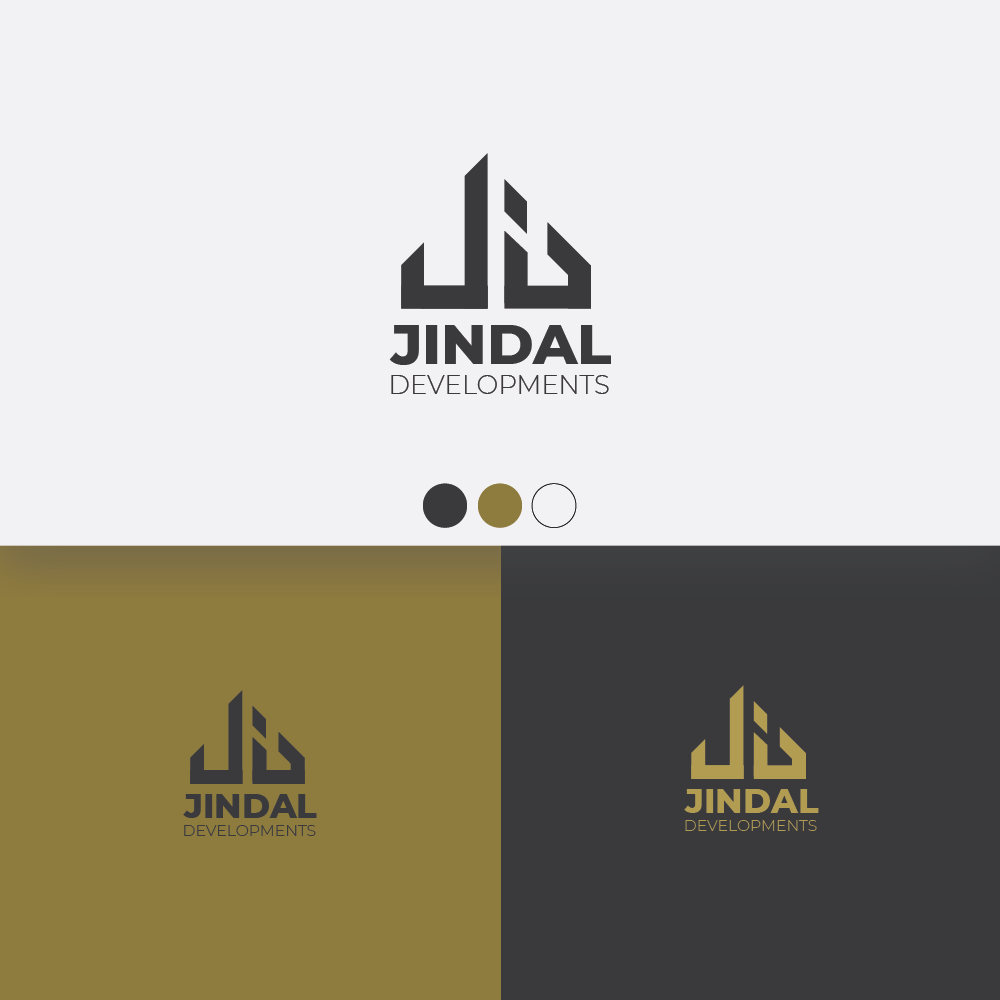 serious modern logo design for interchangeable between jindal developments and jindal properties the letter j d and p must be present in the logo by radanpetkova 2 design 19890521 serious modern logo design for