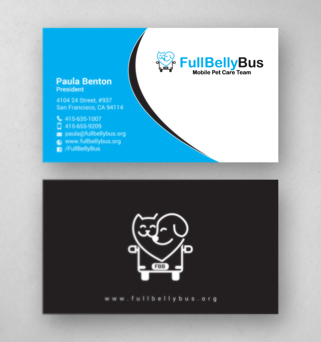 Upmarket Modern Non Profit Business Card Design For A Company By