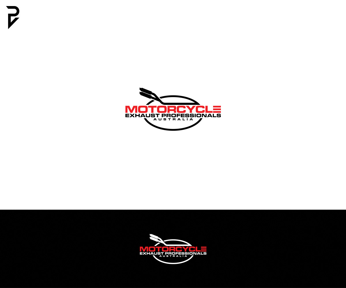 Logo Design For Motorcycle Exhaust Professionals Australia By Poisonvectors Design 19892743